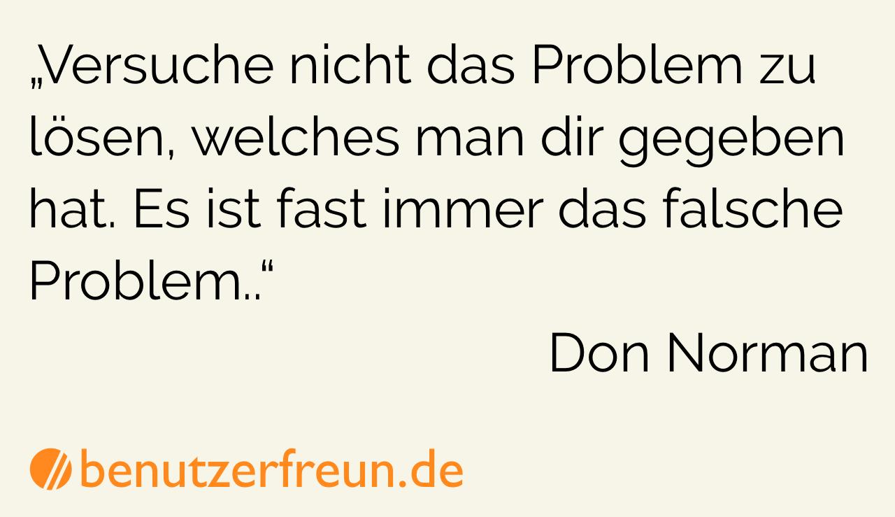Don Norman Zitat