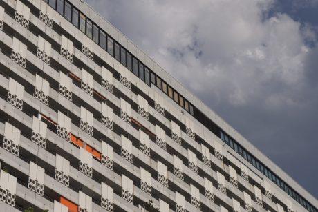 Foto Hochaus Brutalismus
