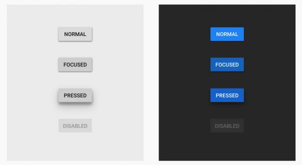 Screenshot Material Design