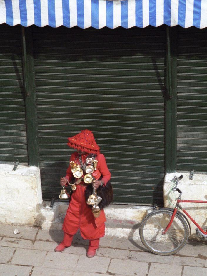 Foto Wasserverkäufer Marokko