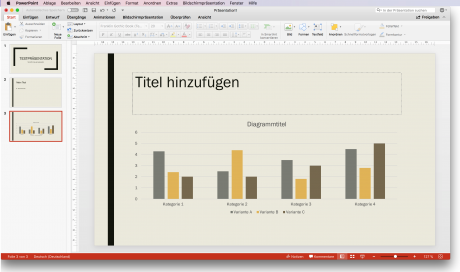 Screenshot Vorlage Powerpoint