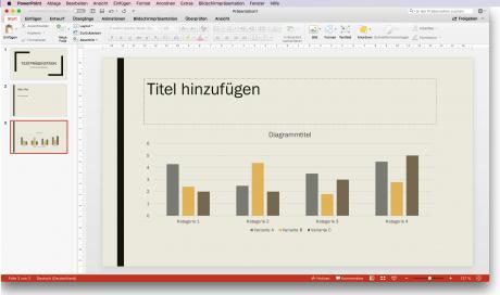 Screenshot Vorlage Powerpoint