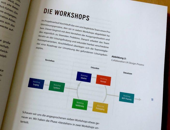 Foto aus Buch Collaborative UX Design: die 7 vorgestellten Workshops