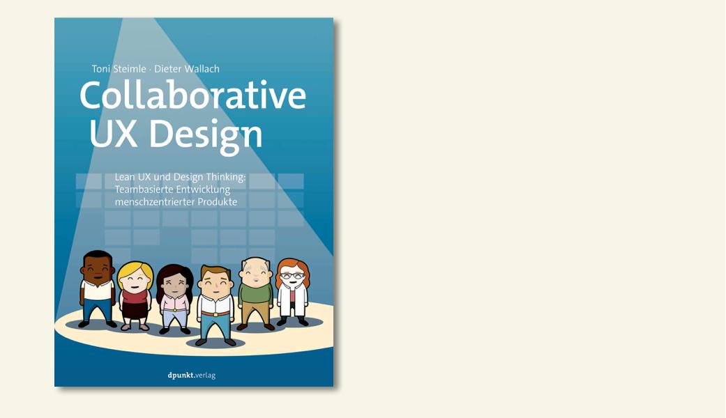 Vorschaubild Collaborative UX Design Buch