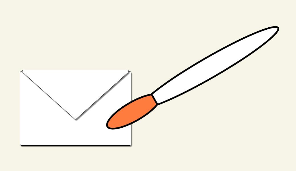 Design guter Newsletter