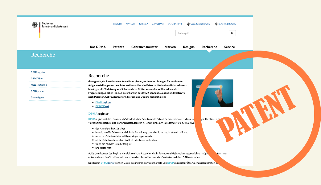 Verbotene Vorlagen – patentierte Interaktionsmuster