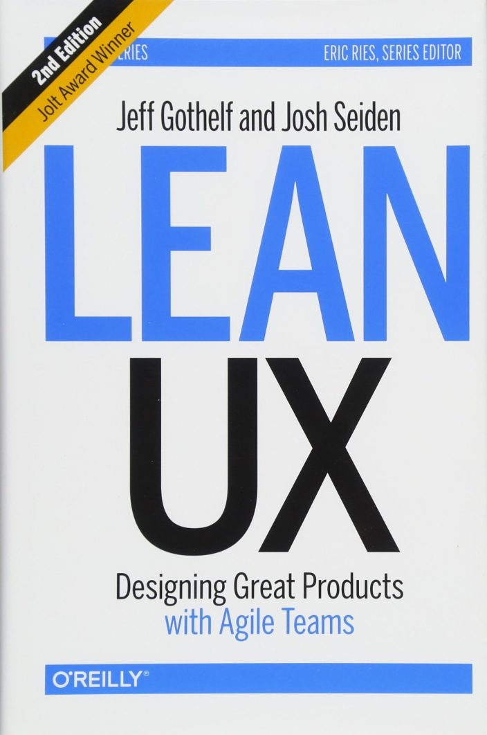 Cover Buch Lean UX