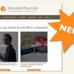 Re-Relaunch benutzerfreun.de – Pro & Contra – Newsletter 11/2019