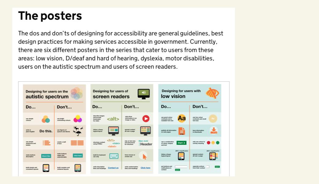 Vorschaubild Accessibility Posters
