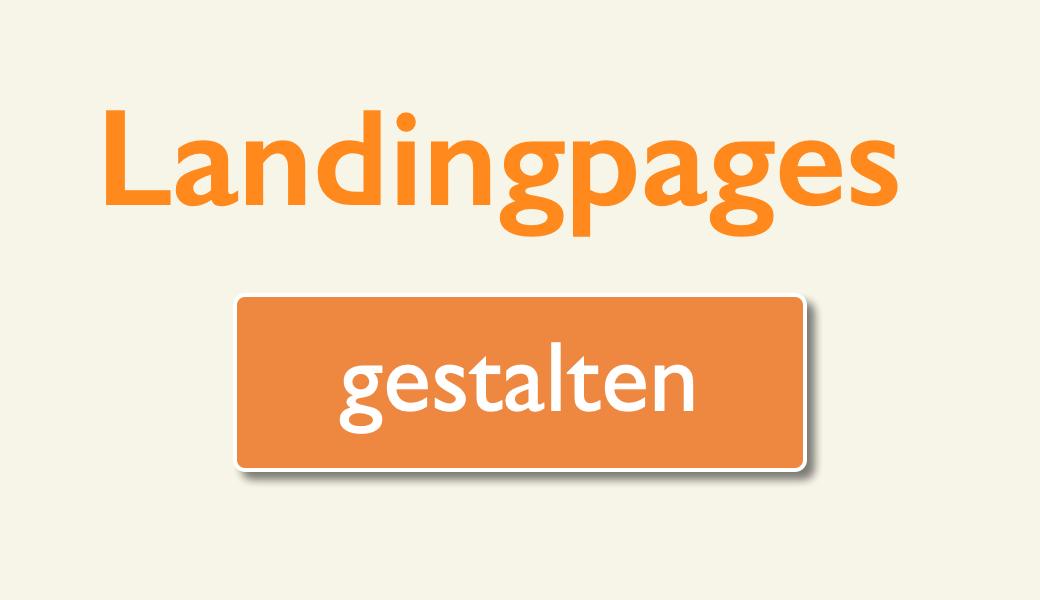 Vorschaubild Landingpages gestalten