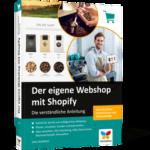 Der eigene Webshop mit Shopify –Buch Info