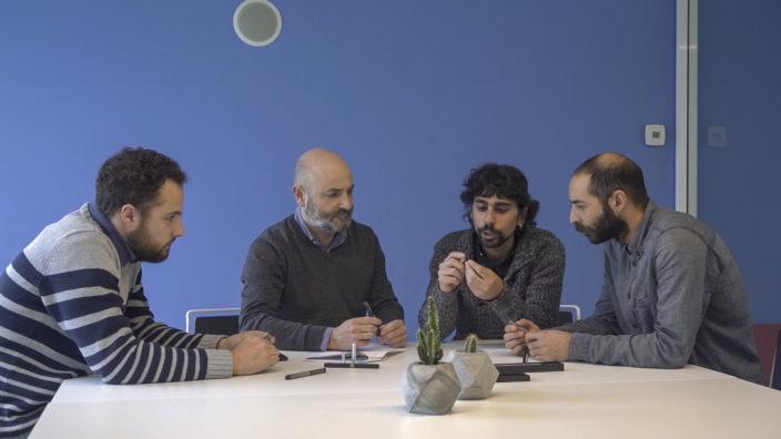 Foto Team Indigraph Sergio Errandonea, Iñigo Echeverria, Izar Carazo, Unai Rollan