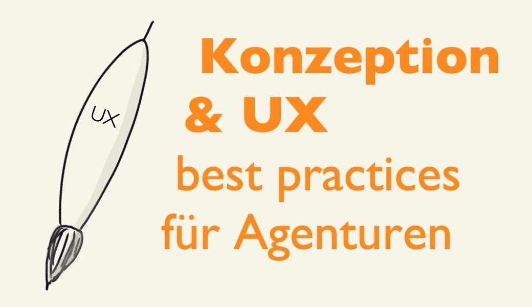 Vorschaubild Seminar Konzeption UX best practices