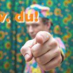 Die richtige Ansprache –duzen, siezen, gendern – Newsletter 6/2021